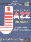 Volume 1  How to Play Jazz and Improvise PDF