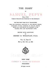 The Diary of Samuel Pepys ...: For the First Time Fully Transcribed from the Shorthand Manuscript in the Pepysian Library, Magdalene College, Cambridge, Volume 4