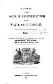 Journal of the House of Representatives of the State of Michigan