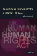 Constitutional Review under the UK Human Rights Act PDF