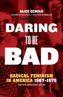 Daring to Be Bad PDF