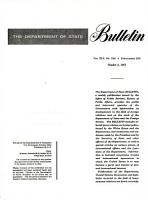 The Department of State Bulletin PDF