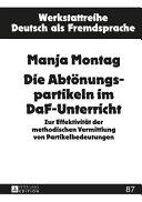 Die Abtoenungspartikeln Im DaF Unterricht PDF