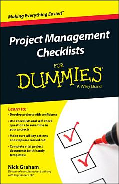 Project Management Checklists For Dummies PDF