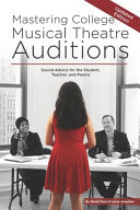 Mastering College Musical Theatre Auditions PDF