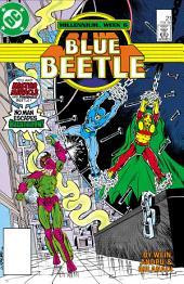 Blue Beetle (1986-) #21