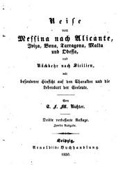 T. F. M. Richters Reisen zu Wasser und zu Lande: für die reifere Jugend zur Belehrung, und zur Unterhaltun für Jedermann, Bände 9-10