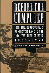 Before The Computer Book PDF