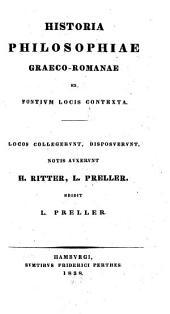Historia philosophiae Graeco-Romanae: ex fontium locis contexta