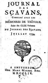 Le journal des sçavans, combiné avec les mémoires de Trévoux: Volumes1à5