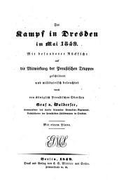 Der Kampf in Dresden im Mai 1849