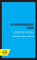 The Korean Buddhist Canon PDF
