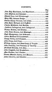 A Biographical Peerage of the Empire of Great Britain: In which are Memoirs and Characters of the Most Celebrated Persons of Each Family--, Volume 2