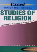 Excel Senior High School Studies of Religion PDF