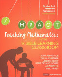 Teaching Mathematics in the Visible Learning Classroom  Grades 6 8 PDF