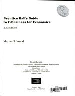 Prentice Hall s Guide to E Business for Economics PDF