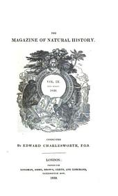 The Magazine of Natural History: Volume 3