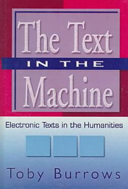 The Text in the Machine PDF