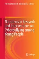 Narratives in Research and Interventions on Cyberbullying among Young People PDF