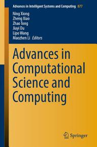 Advances in Computational Science and Computing PDF