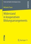 Widerstand in kooperativen Bildungsarrangements PDF