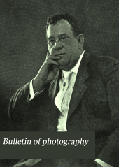 Bulletin of Photography: Volume 12