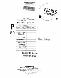 Pediatric Board Review  Pearls of Wisdom  Third Edition PDF