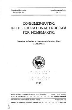 Consumer buying in the Educational Program for Homemaking PDF