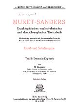 Deutsch englisch von H  Baumann durch einen Nachtrag bis auf die heutige Zeit erg  nzt von E  Klatt PDF