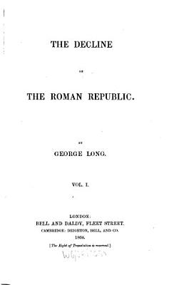 The Decline of Roman Republic PDF