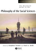 The Blackwell Guide to the Philosophy of the Social Sciences PDF