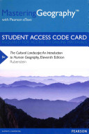 MasteringGeography with Pearson EText   Standalone Access Card    for the Cultural Landscape PDF