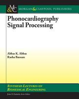 Phonocardiography Signal Processing PDF