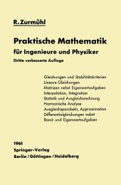 Praktische Mathematik für Ingenieure und Physiker: Ausgabe 3