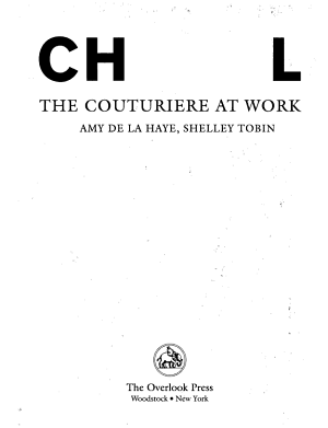 Chanel  the Couturiere at Work