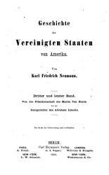 Von der Pr  sidentschaft des Martin Van Buren bis zur Inauguration des Abraham Lincoln PDF