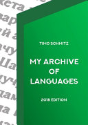 My Archive Of Languages (2018 Edition)