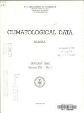 Climatological Data. Alaska: Volume 41