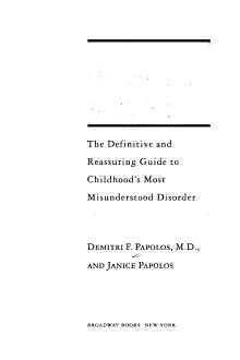 The Bipolar Child PDF