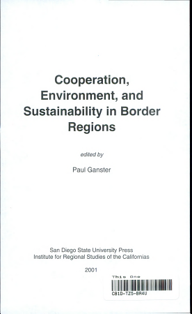 Cooperation  Environment  and Sustainability in Border Regions PDF