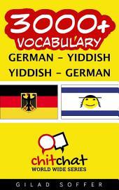 3000+ German - Yiddish Yiddish - German Vocabulary