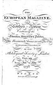 The European Magazine, and London Review: Volume 29
