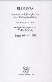 Henologische Perspektiven II: zu Ehren Egil A. Wyllers : Internationales Henologie-Symposium an der Norwegischen Akademie der Wissenschaften in Oslo