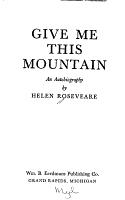 Give Me This Mountain PDF