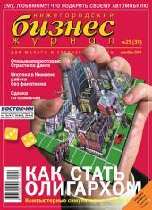 Бизнес-журнал, 2004/25: Нижегородская область