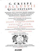 C. Crispi Sallustii Quae extant: Volume 2