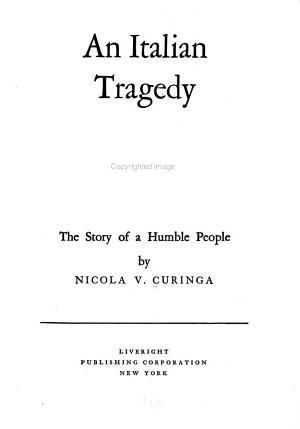 An Italian Tragedy