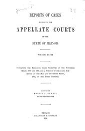 Reports of Cases Decided in the Appellate Courts of the State of Illinois: Volume 48