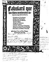 Fabularu[m] que hoc libro continentur interpretes atq[ue] authores sunt hi, Guilielmus Goudanus, Hadrianus Barlandus, Erasmus Roterodamus ...