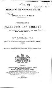 The Geology of the Plashetts and Kielder: (explanation of Quarter-sheet 108 S.W., New Series, Sheet 7)